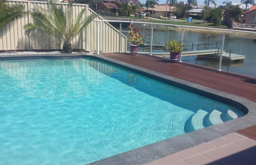 Pool interior Redlands