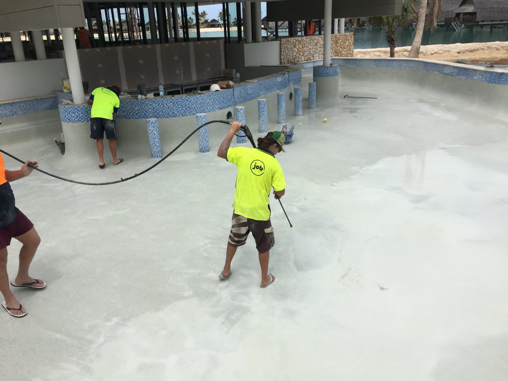 Fiji Pool Interior