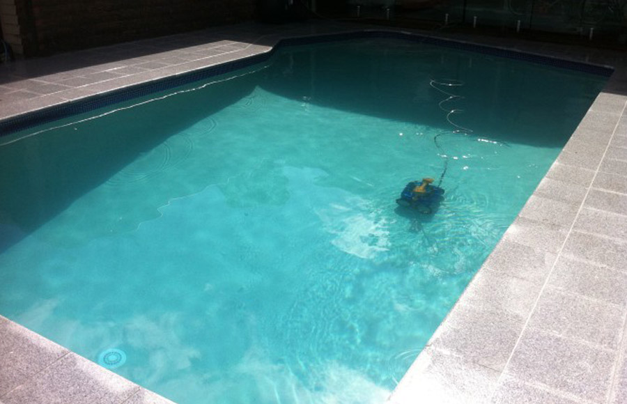 Photo of the completed project, Pool renovation Redland Bay