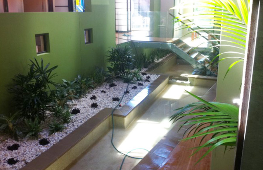 Photo of the completed project, Water feature repairs Alexandra Hills