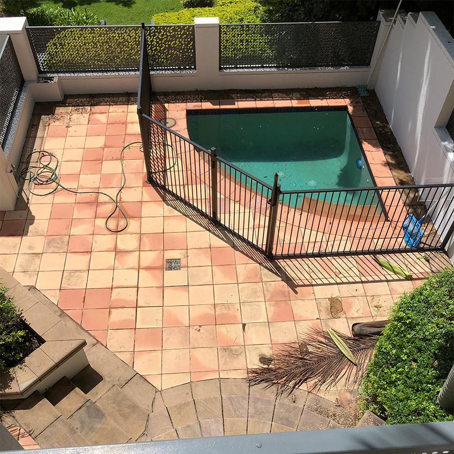 Pool Refurbishment Kangaroo Point pool before