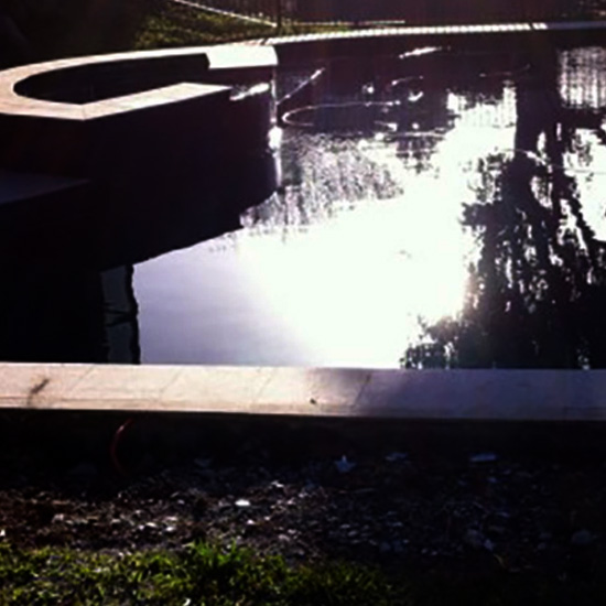 This pool was refubished by Just Add Water Pools. The Manly owner was impressed with work of the brisbane pool builder