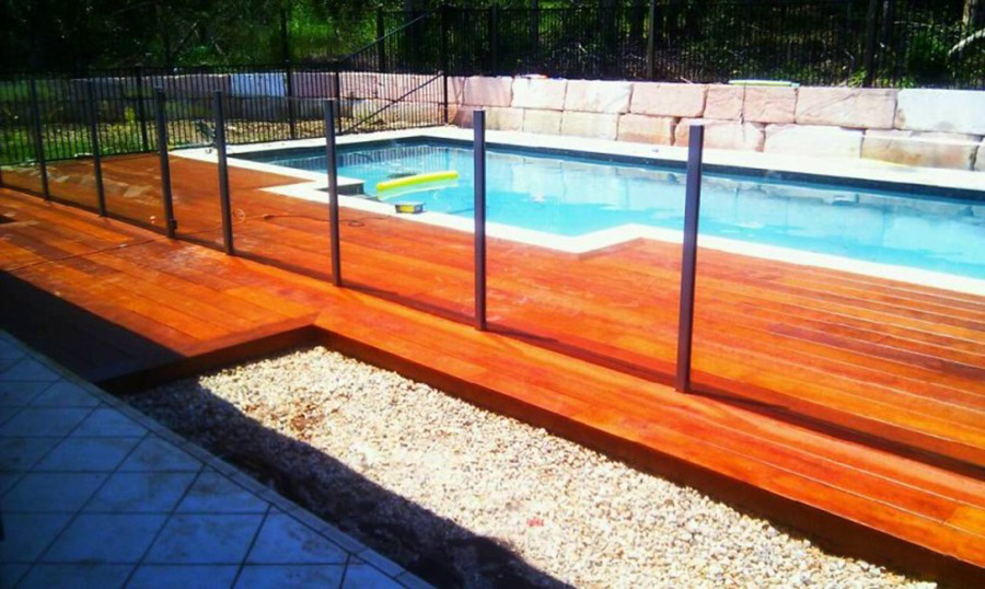 Photo of the completed project, Pool construction Chandler
