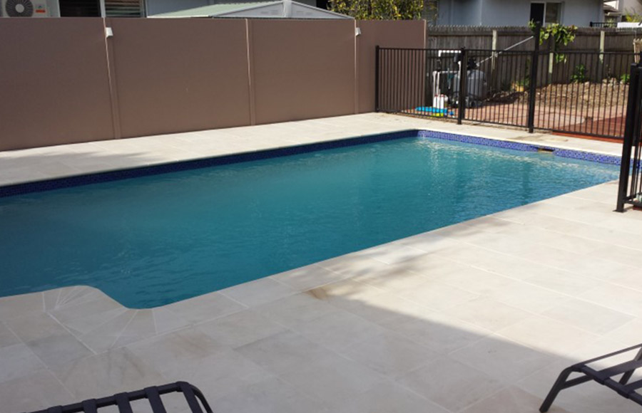 Photo of the completed project, Pool Restoration Ormiston