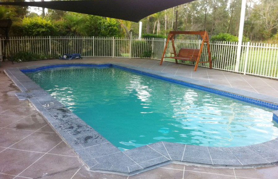 Photo of the completed project, Pool makeover Rochedale