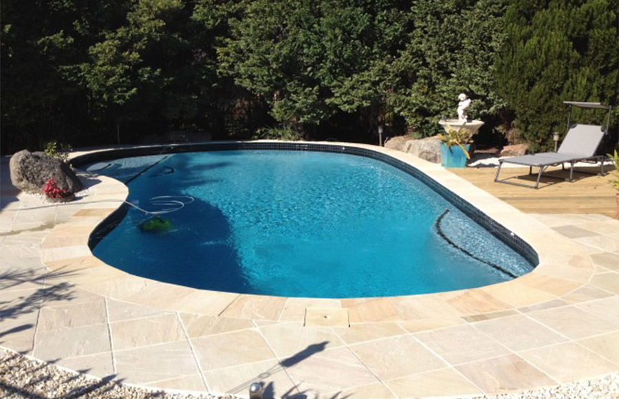 Photo of the completed project, Pool renovation Thorneside