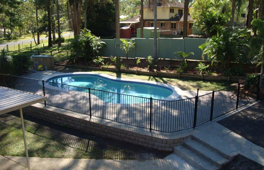 Photo of the completed project, Pool renovation Shailer Park