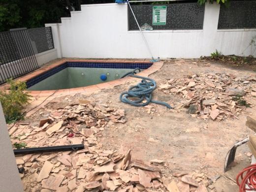 Pool renovation Kangaroo Point