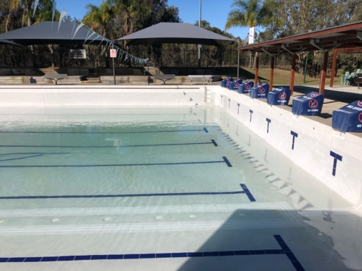 commercial pool interior gold coast