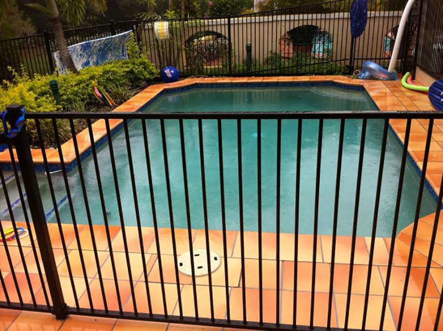 Photo of the completed project, Carindale pool refurbishment