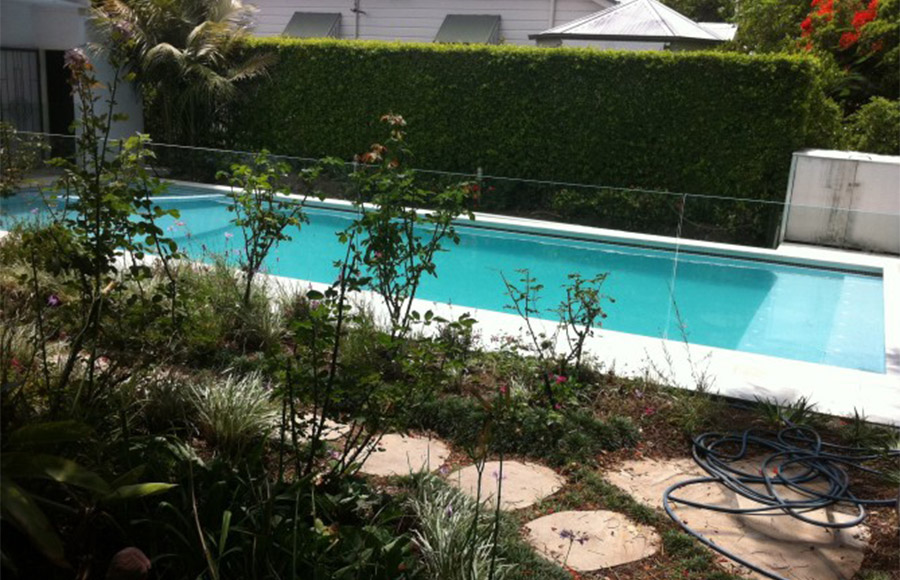 Photo of the completed project, pool restoration Manly