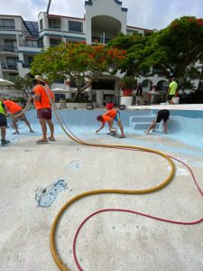 Commercial Pool Resurfacing