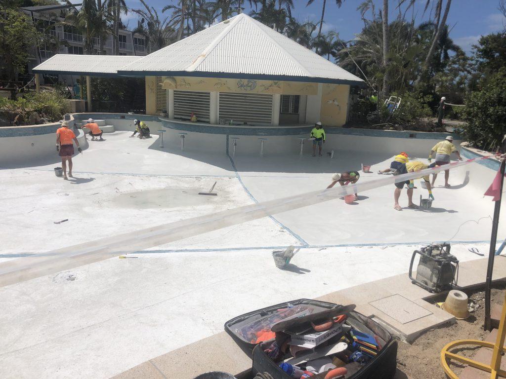 swimming pool renovations whitsunday islands