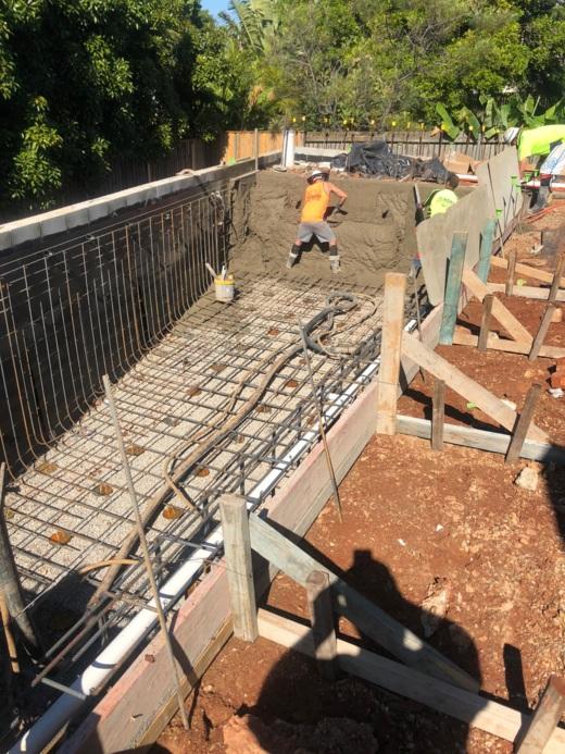 wellington point commercial pool builder