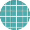 Aqua Crystal Glass Mosaic Waterline Tile